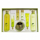 Набор уходовый зеленый чай Premium Deoproce Greentea Total Solution Skin Care 5 SET