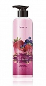Гель для душа Ягодный микс Deoproce Healing Mix&Plus Body Cleanser Mix Berry